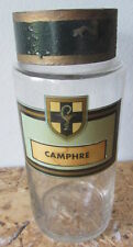 Antico vaso da farmacia/ erboristeria  - barattolo - Camphre