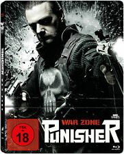 Punisher: War Zone - Limited UNCUT Blu-ray Steelbook  Neu/OVP