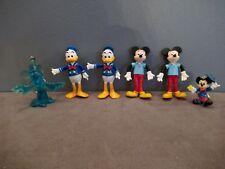 Lot Figurines Mickey/Donald BRABO + 2 Porte-clefs/clés ( haut  4,5 à 8 cm )  A