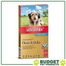 Advantix For Medium Dogs 4-10kg 3 pack