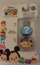Disney Tsum Tsum Collect'em Stack'em Series 4: Joy#267, Mystery & Lilo#463, NEW✨