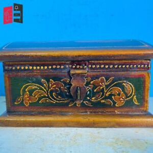 Wooden Hand Painted Gift Box (MADE TO ORDER)
