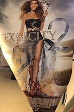 Candace Bushnell Autograph Signed Sex and the City 2 movie poster