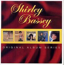 Shirley Bassey ORIGINAL ALBUM SERIES Box Set SOMETHING I Love You So NEW 5 CD