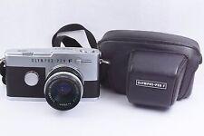 Olympus PEN-FT body with F.Zuiko Auto-S 38mm F 1.8 Lens , case