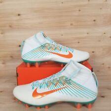 Nike Vapor Untouchable 2 Football Cleats Miami Dolphins [835646-117] Sz 12.5