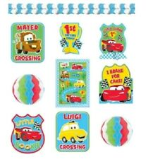 Room Decorating Kit ~ Disney Cars 1st Birthday CHAMP ~ party supplies
