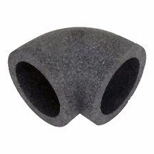 Rohrisolierung, Bogen 90°/ 150mm für Lüftungskanal, Abluftrohr, Abluftkanal