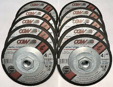 "25 CARBORUNDUM 4-1//2/"" x 3//32/"" x 7//8/"" A60-Q Grinding Wheels Stainless Steel//Metal"