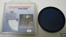 58mm Quantaray 80A Lens Filter NEW