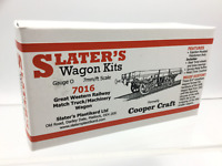 Slaters 7016 O Gauge GWR Match Truck/Machinery Wagon Kit