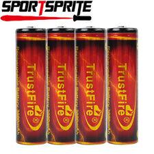 4xTrustFire 18650 3.7V 3000mAh Li wiederaufladbare Battery für SureFire MagLite
