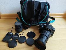Canon EOS 500D 12.2MP digitale Spiegelreflexkamera, 28-200mm, 28-80mm Objektiv