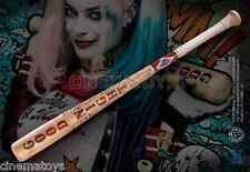 Harley Quinn Mazza da Baseball in legno Bat Authentic prop replica Suicide Squad