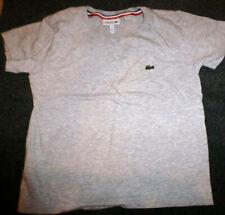 LACOSTE GRAY BOYS Cotton T-Shirt sz-5