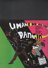U MAKE ME FEEL LIKE DANCIN' - various artists LP