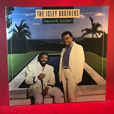 THE ISLEY BROTHERS Smooth Sailin' - 1987  vinyl LP + INNER EXCELLENT CONDITION