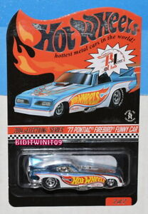 HOT WHEELS 2014 RLC '77 PONTIAC FIREBIRD FUNNY CAR #3277/03840 W+