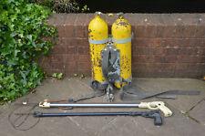 vintage diver tanks old oxygen tanks metal breathing tanksp - FREE DELIVERY