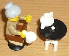 LEGO City Figur Minifig Omi Oma Grandmother Advent Kekse 60155 Großmutter