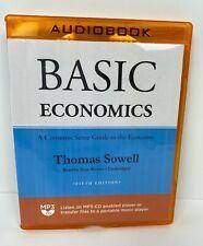 Basic Economics Audio Book 5th Edition Thomas Sowell Unbridged Pre-Owned