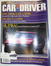 Car And Driver Magazine 1982 Mercury Capri October 1981 032515R