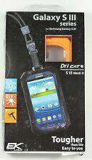 11061P-C98 Dri Cat Samsung Galaxy S3/S4 Dri_Cat Neck iT Waterproof Case,Orange