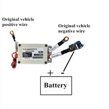 Car Battery Disconnect Isolator Cut Off Kill Switch +Wireless Remote Control