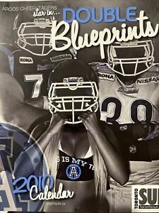 Toronto Argonauts Cheerleaders Calendar