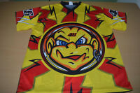 Vtg Motorcycle racing shirt Rossi Valentino The Doctor Ducati Yamaha 46 men S M