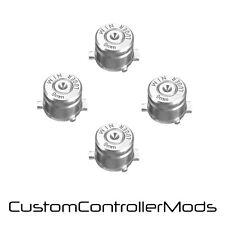 Los botones de acción de bala de reemplazo para PS3 controlador PS4 Kit Personalizado Mod-Plata