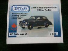 Ho 1/87 Sylvan 1946 Chevy Stylemaster 2 Door Sedan Kit