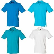 Patternless Stretch Collared Casual Shirts & Tops for Men