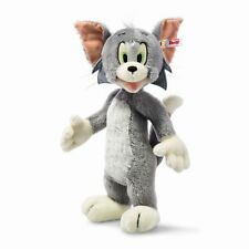 "STEIFF ""TOM"" EAN 354588  CAT OF TOM & JERRY- GREY/WHITE MOHAIR 13""  2016"
