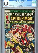 Marvel Team-Up #59 CGC 9.6 WP Spider-Man Wasp Yellowjacket Marvel Comics 1977