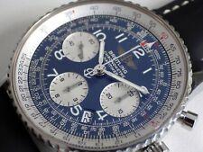BREITLING CHRONOMETRE NAVITIMER AUTOMATIC A23322 BLUE DIAL, ORIGINAL