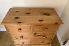 Used Pine Chest of Draws and matching Bedside Cabinets