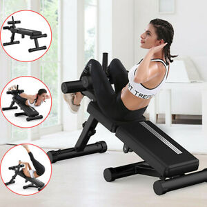 Abs Crunch Abdominal Exercise Machine Ab Coaster Fitness Body Muscle Workout GYM