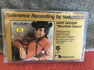 """NEW Dave Grusin """"Mountain Dance"""" REFERENCE RECORDING Cassette by Nakamichi ^NEW^"""
