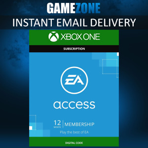 EA Access (EA Play) 1 Year Membership Code - Xbox One - Worldwide - 12 Month