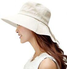 81443568 Wide Brim 100% Cotton Hats for Women for sale | eBay