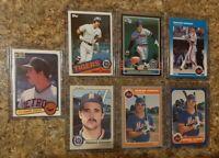 (7) Howard Johnson 1983 Donruss Fleer Rookie + 1985 Topps Card Lot RC 1986 Mets