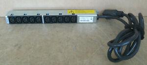 Bachmann 10 x C13 Outlet 240V 10A PDU Extension Bar 333.9935