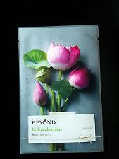 Beyond Herb Garden Facial Mask Sheet  Lotus Flower Moisturized Korean Cosmetics