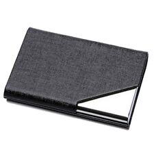 Business ID Credit Card Holder  Women Men Fashion Brand Metal Aluminum Card Case