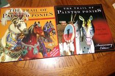 Lot of 2 Painted Ponies Book Catalog Fashion Go Van Gogh Apache Zorse Christmas