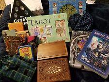 Lot of 11 Decks + More: Tarot of the Imagination, Fractal, Haunted Lenormand