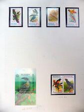 INDONESIA Birds Set & M/Sheet U/M NB3309