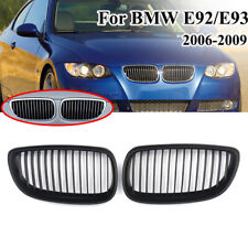 2x Sport Front Kidney Grille Grill For BMW E92 E93 M3 328i 335i 2 Door 2006-2009