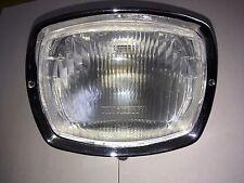 Lambretta GP 125 headlight headlamp assembly bulb holder rim top quality casa